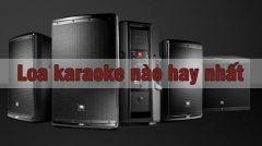 Loa Karaoke Nào Hay Nhất Cho Phòng Hát Kinh Doanh Hiện Nay
