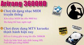 Bán đầu đĩa Arirang 5 số 3600HD với giá rẻ nhất?
