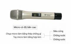 Micro karaoke USS-900 VinaKTV chất lượng, độ bền cao