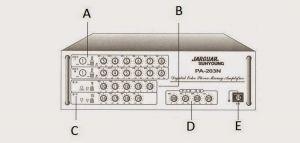 Cách chỉnh Amply hát karaoke Jarguar PA 203N