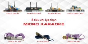 8 Tiêu Chí Để Mua Micro Karaoke Hay, Giá rẻ