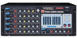 Điều chỉnh amply karaoke nanomax phù hợp với giọng hát