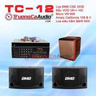 Dàn karaoke gia đình TC - 12