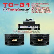 Dàn karaoke gia đình TC – 31