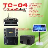 Dàn karaoke kinh doanh TC-04