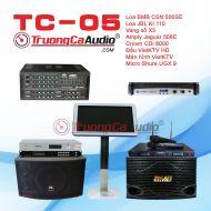 Dàn karaoke kinh doanh TC- 05