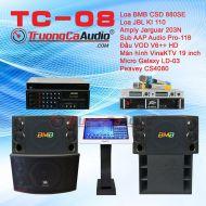 Dàn karaoke kinh doanh TC-08