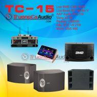 Dàn karaoke kinh doanh TC- 15