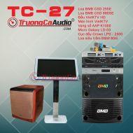 Dàn karaoke kinh doanh TC-27