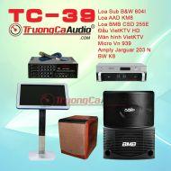 Dàn karaoke kinh doanh TC-39