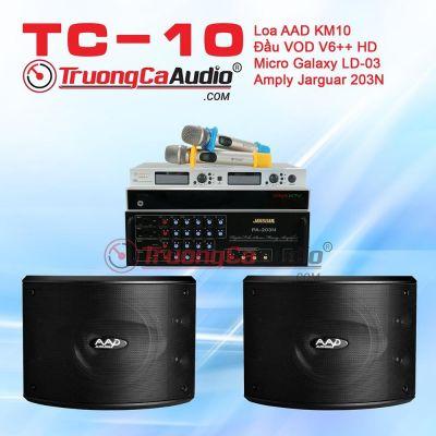 Dàn karaoke gia đình TC-10