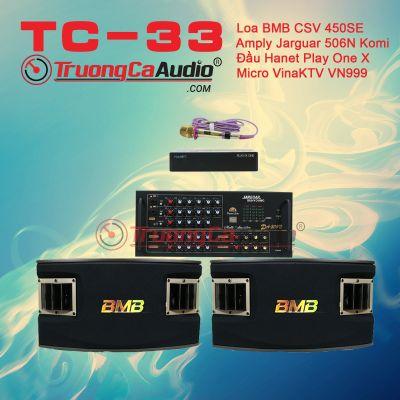 Dàn karaoke gia đình TC – 33