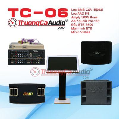 Dàn karaoke kinh doanh TC- 06