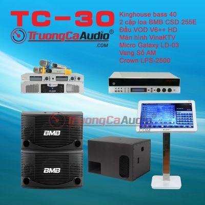 Dàn karaoke kinh doanh TC-30