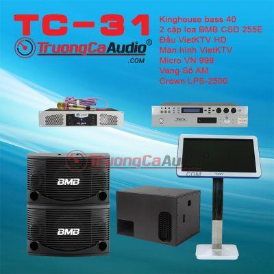 Dàn karaoke kinh doanh TC-31
