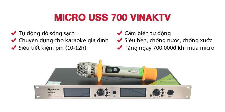 Micro VinaKTV USS 700
