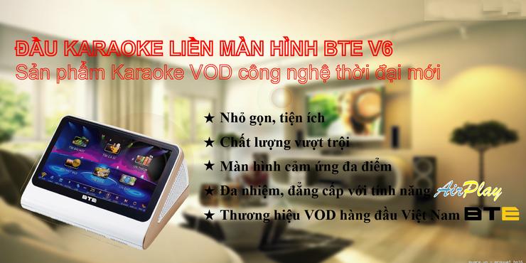 Đầu Karaoke BTE V6 2TB