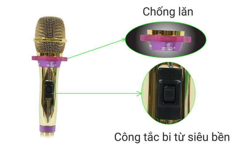 Micro có dây VinaKTV VN 999