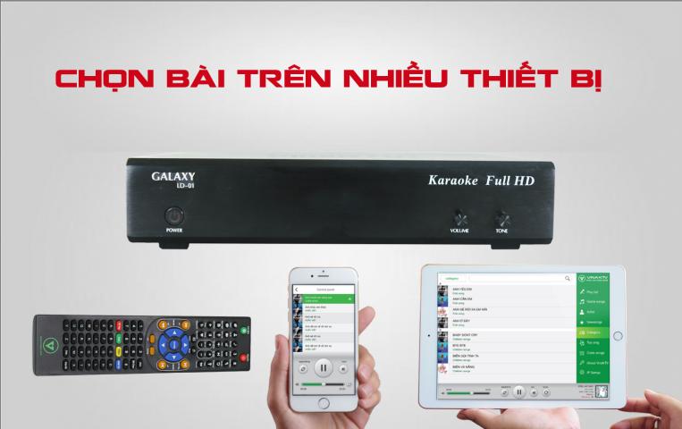 Đầu Galaxy Ld-01 VinaKTV 3TB